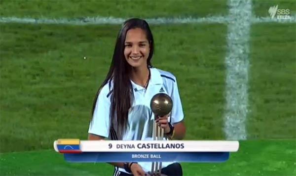 Deyna Castellanos | Foto: vía Twitter