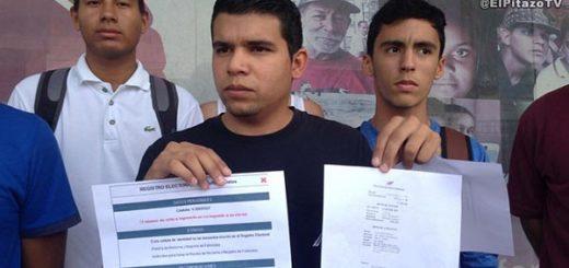 Jóvenes denuncian que el CNE no los incluyó en el Registro Electoral |Foto: El Pitazo