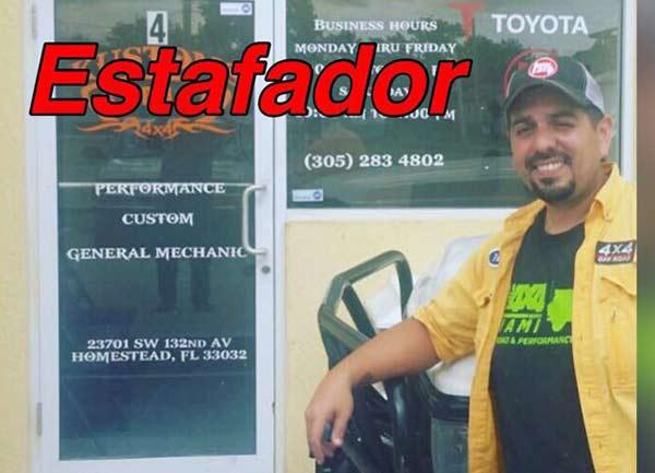El estafador Pedro Bravo