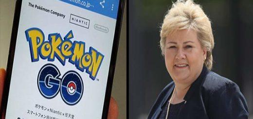 Primera Ministra de Noruega es capturada jugando Pokemon Go | Composición Notitotal