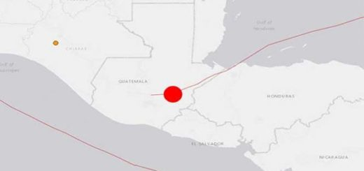 Sismo de 5.1 sacudió Guatemala |Foto: Excelsior