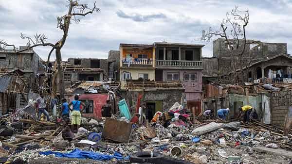 Haití tras el paso del huracán Mattew | Foto: