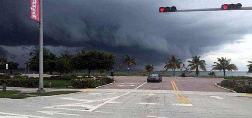 Huracán Mattew en Florida | Foto cortesía