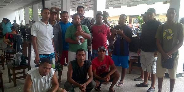Presuntos paramilitares acusados por Nicolás Maduro | Foto: El Tiempo de Colombia