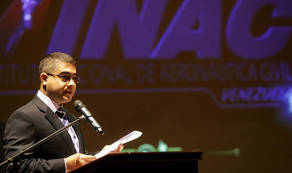 Jorge Luis Montenegro, presidente del INAC | Foto: AVN