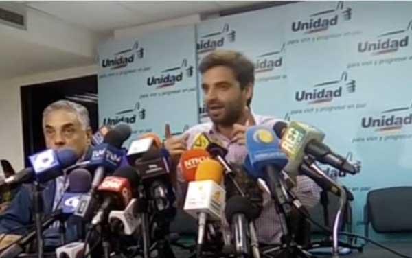 Diputado Juan Andrés Mejías | Foto: Captura de video