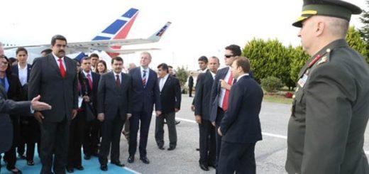 El presidente Nicolás Maduro arriba en Turquía para participar en la XXIII edición del Congreso Mundial de Energía |Foto: @Vtvcanal8