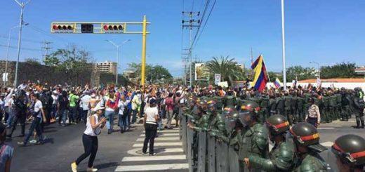 Toma de Venezuela en Margarita | Foto: Twitter
