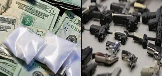 Los narcotraficantes dotan de armas a delincuentes para que les cuiden los corredores de drogas |Fotomontaje Notitotal