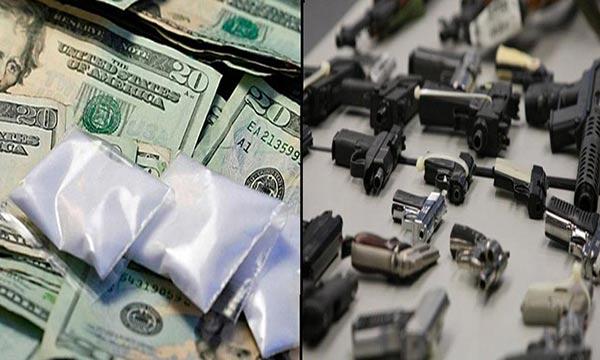 Los narcotraficantes dotan de armas a delincuentes para que les cuiden los corredores de drogas  Fotomontaje Notitotal