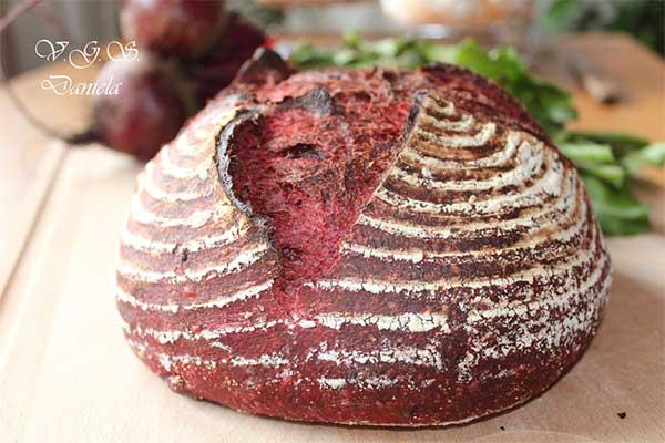Pan de remolacha |  Foto: http://vegetarian-gustos-si-sanatos.blogspot.com