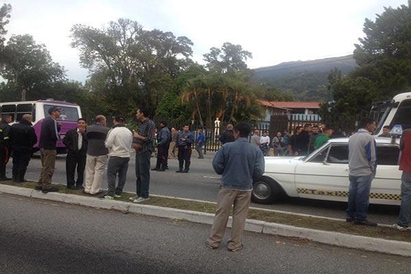 Paro de transportistas en Mérida |Foto: @leoperiodista