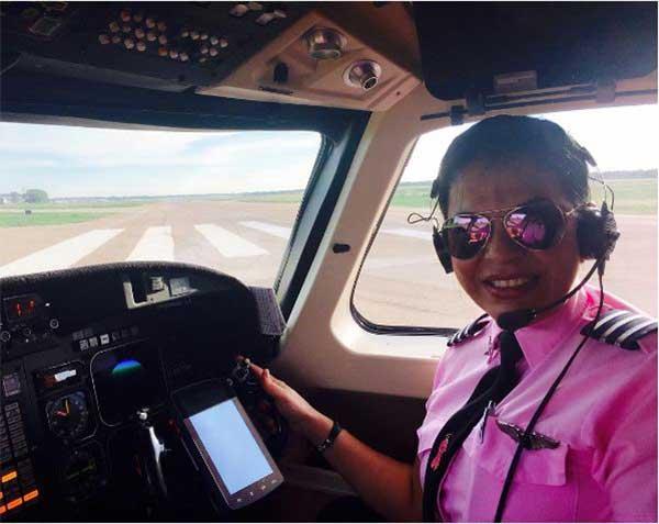 Piloto María Del Mar Dosil | Foto: @mar_dosil