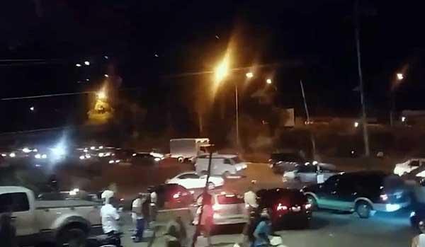 Enfrentamiento donde murió Polimiranda este miércoles | Foto: Captura de video
