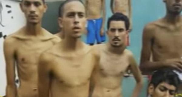 Presos de la PGV | Foto: Captura de video