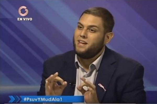 Juan Requesens   Foto: Captura de video