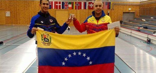 Rubén Limardo gana medalla de plata en Noruega y se la dedica a Venezuela  Foto: @RubenLimardoFnd