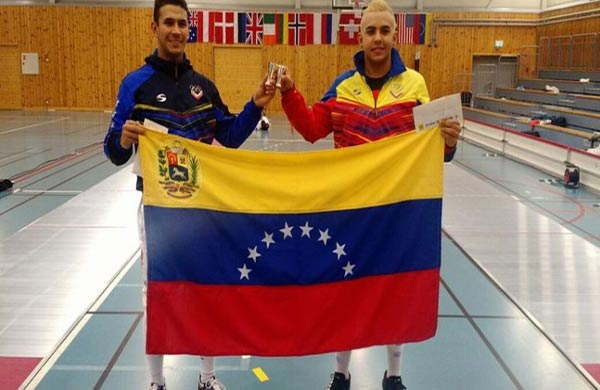 Rubén Limardo gana medalla de plata en Noruega y se la dedica a Venezuela |Foto: @RubenLimardoFnd