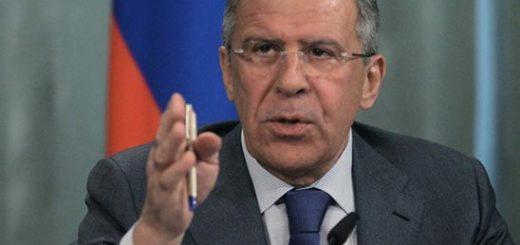 El ministro de Relaciones Exteriores de Rusia, Sergei Lavrov, |Foto: RT