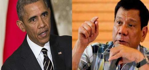 Barack Obama / Rodrigo Duterte | Foto referencial