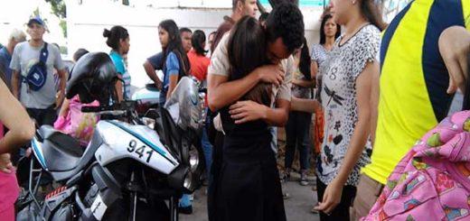 Liceísta murió tras recibir impacto de bala en el pecho |Foto: Marian Chávez