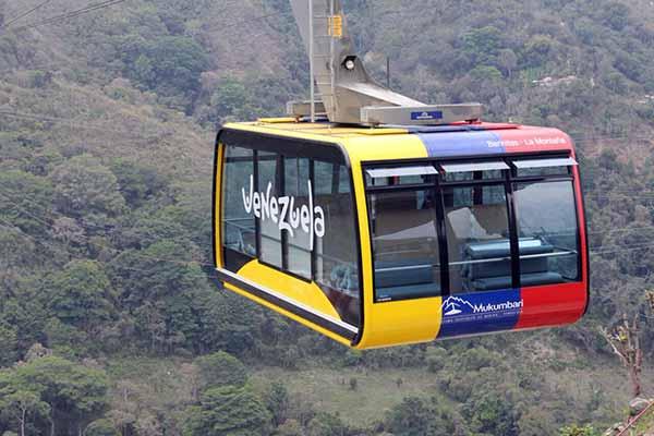 Telesférico de Mérida, Mukumbari | Foto: @FitVen_Oficial