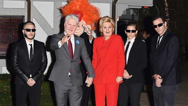 Orlando Bloom y Katy Perry como Bill y Hillary Clinton | Foto: Twitter