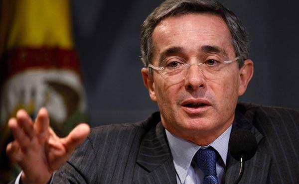 Álvaro Uribe, ex presidente de Colombia |Foto archivo