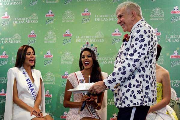 Keysi Sayago, la nueva soberana de la belleza venezolana | Foto: Associated Press