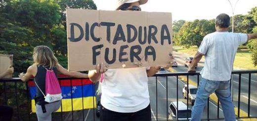 Protestas en Valencia | Foto: @AleReporta