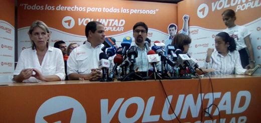 Voluntad Popular fija posición ante diálogo con el Gobierno Nacional |Foto: Unidad Venezuela
