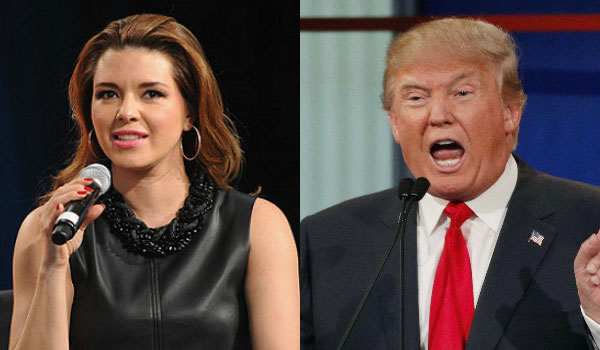 Alicia Machado y Donald Trump