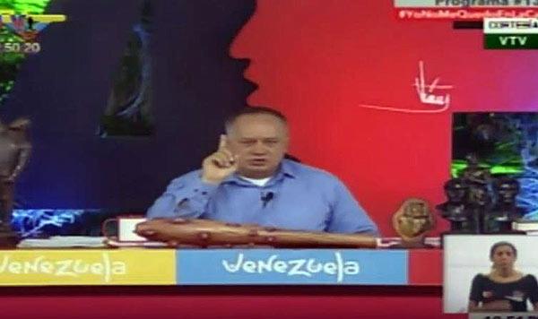 Diosdado Cabello | Foto: captura de video