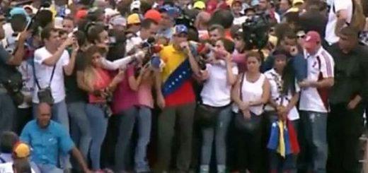 Henrique Capriles en la Toma de Venezuela | Foto: captura