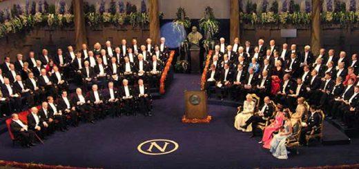 Ceremonia de los Premios Nobel   Foto: Archivo