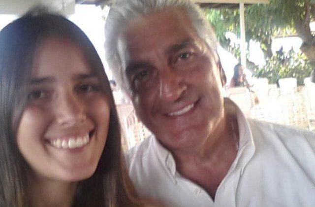 Claudia Jatar junto a su padre, Braulio Jatar | Foto: Facebook