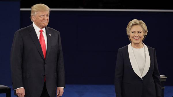 Donald Trump y Hillary Clinton Foto: Agencia