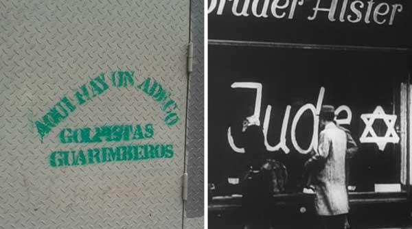 Comercio en La Candelaria / Alemania Nazi | Foto: Maduradas / Crédito: @aymaralorenzo
