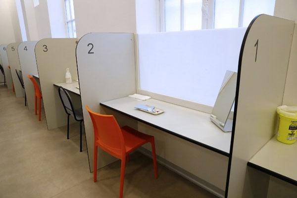 La primera sala de consumo de droga en Francia|AFP