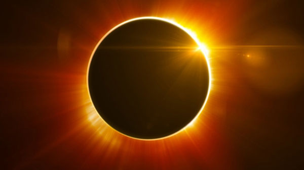 Faltan tres días para el eclipse solar del siglo | Imagen ilustrativa