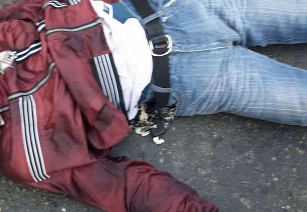 Ex funcionario de la PM asesinado | Foto: @RCamachaVzla