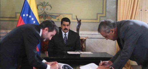 Firma de acuerdos | Foto: Prensa Presidencial