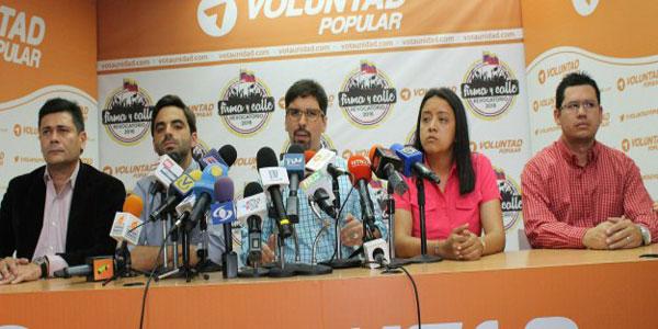 El coordinador nacional encargado de Voluntad Popular, diputado Freddy Guevara|Prensa VP