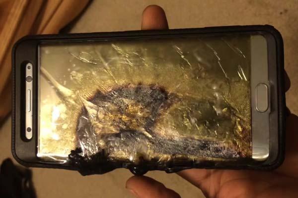 Samsung galaxy s7 explotan