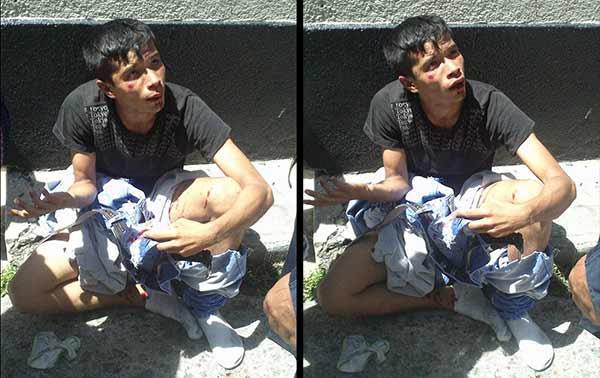 Ladrón casi fue linchado en Mérida | Fotos: Facebook