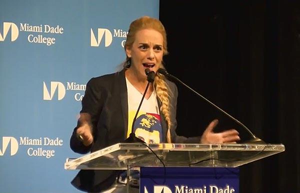 Lilian Tintori   Foto: captura de video