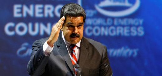 Nicolás Maduro en el Congreso Mundial de Energía | Foto: Captura de video