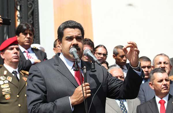Nicolás Maduro   Prensa presidencial