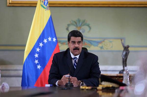 Nicolás Maduro en el Consejo de Defensa de la Nación   Foto: @PresidencialVEN