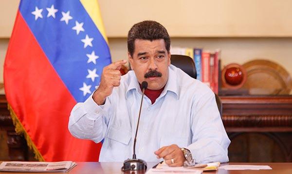 Nicolás Maduro asegura que resultado del plebiscito fue empate técnico   Foto: Prensa Presidencial